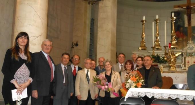 La  Giuria del premio, il Sindaco e l' Assessore alla Cultura del Comune di Vecchiano